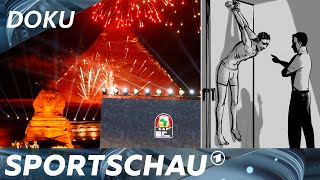 Afrika Cup in Ägypten: Hochglanzbilder ohne Folterkeller   Sport inside
