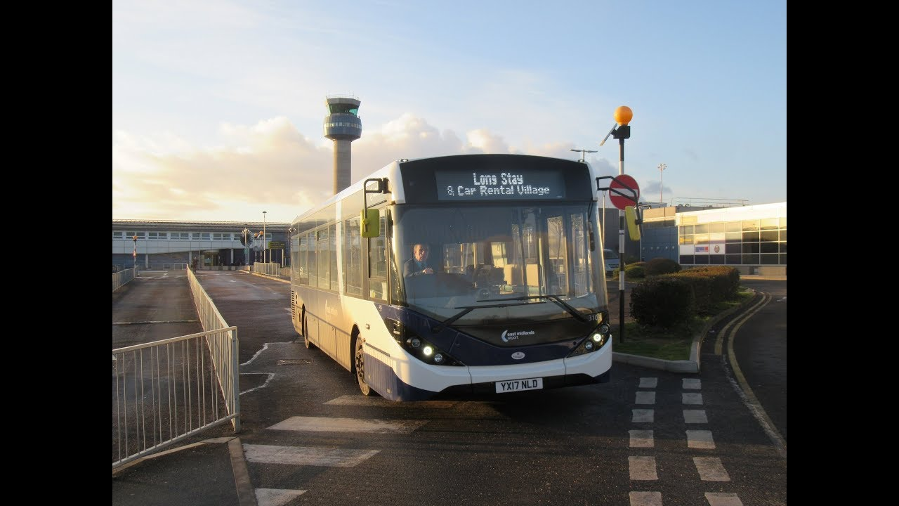 Arriva Derby - Enviro 200 MMC 3103 (YX17 NLD) on Airport shuttle