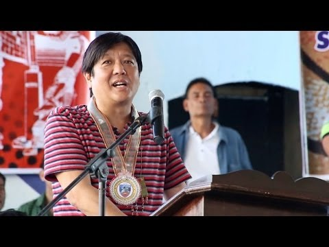 Sen. Bongbong Marcos - Speech at Ermita Cup sports fest in Balayan, Batangas 05 April 2014