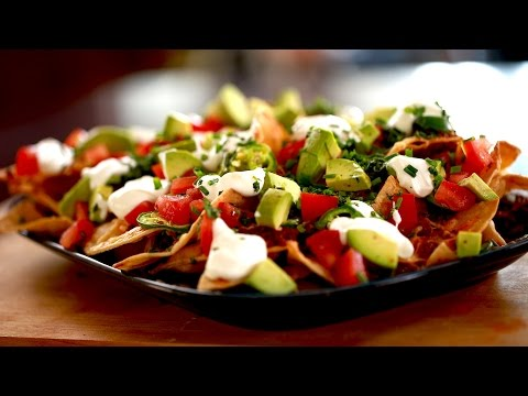 How to Make Loaded Nachos with Byron Talbott (THE DISH)
