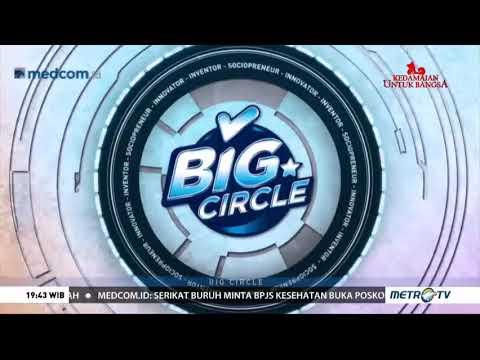 Kospin Jasa di Big Circle Metro Tv: Nabung Saham, Tren Milenial