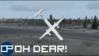 Stream Highlight | Landing into Oslo but it all goes horribly wrong after the replay...