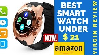 Review: New Bluetooth Smartwatch for Android & iPhone(Now $20.99)|Camera,Facebook,Whats App,Twitter,