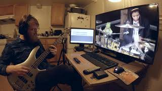 Utauyo !! Miracle - After School Tea Time - Bass Cover