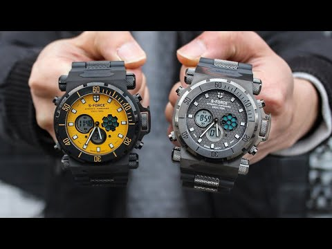 S-Farce Watches... Oops, I Mean S-Force!