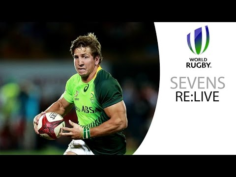 Outrageous cheek in the Sevens - Smith and Perez for South Africa