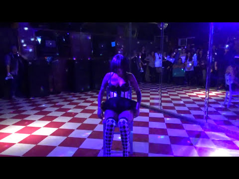 Twiggy Pop performs Doll number to Missed Me at Grotesque Burlesque