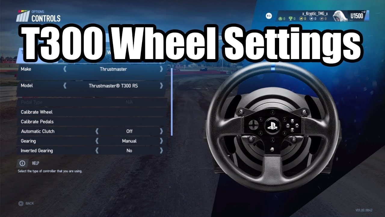 Project Cars 2 | T300 Wheel settings