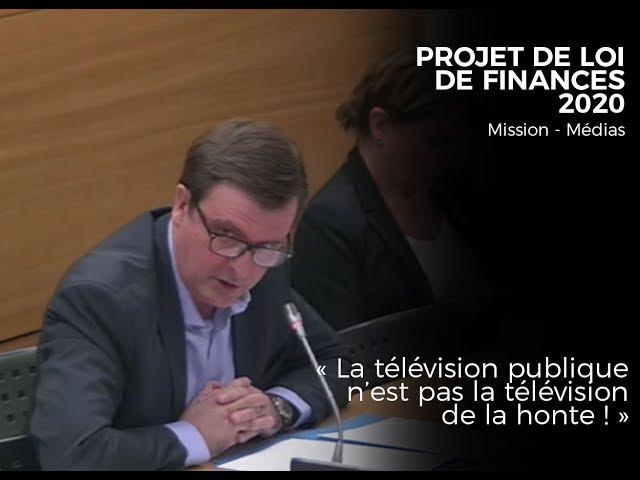 LA TÉLÉVISION PUBLIQUE N'EST PAS LA TÉLÉVISION DE LA HONTE !