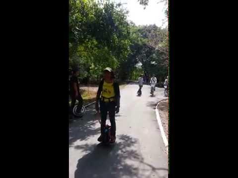 Ninebot One Unicycle -  จักรยานไฟฟ้าล้อเดียว Trip บางกระเจ้า