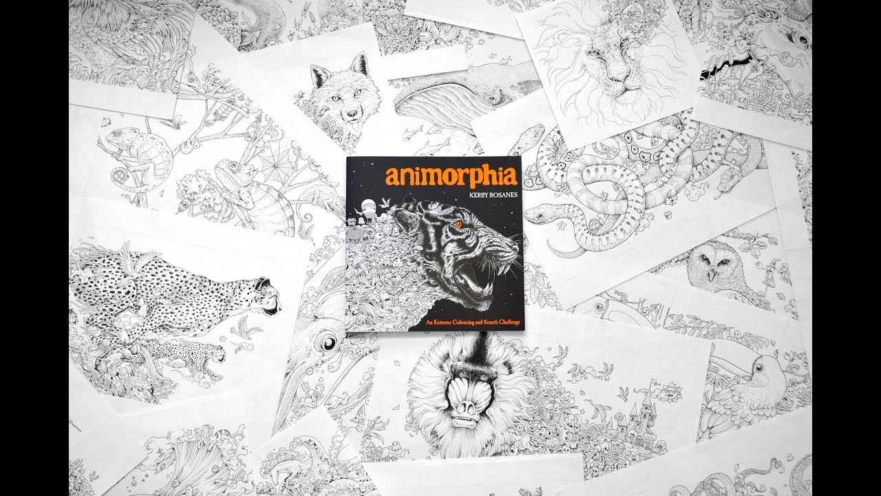 Animorphia an extreme coloring and search challenge by kerby rosanes - Animorphia An Extreme Coloring And Search Challenge By Kerby Rosanes 3