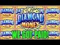 DIAMOND MONEY SLOT💎 WE GOT PAID💰 HO CHUNK GAMING MADISON ...