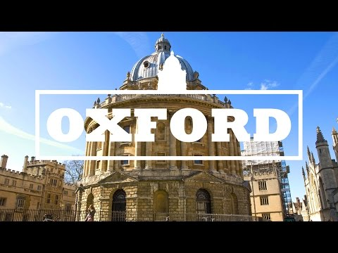 VLOG - Travelling to Oxford