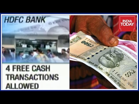 Banks To Levy Charges For Cash Transactions