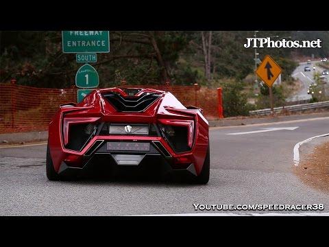 Lykan HyperSport driving in California
