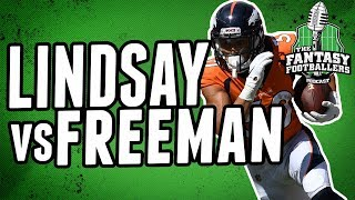 Phillip Lindsay vs Royce Freeman | Who's Better Rest of Season?