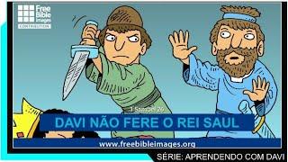 Davi não fere o rei Saul (Série Aprendendo com Davi - aula 06)