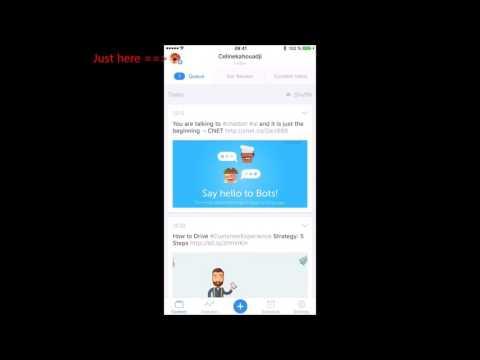 Buffer Mobile App Tutorial