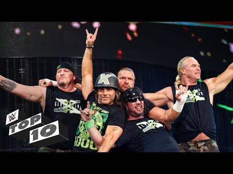 D-Generation X's greatest moments: WWE Top...