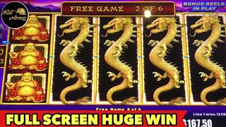 🐲FULL SCREEN HUGE WIN🐲NEW LIGHTNING LINK TOP SYMBOL!! IT JUST HAPPEN 😲 EPIC BONUS SLOT MACHINE