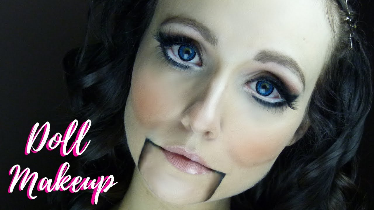 Maquillage Halloween Tutoriel look poupée ventriloque ...