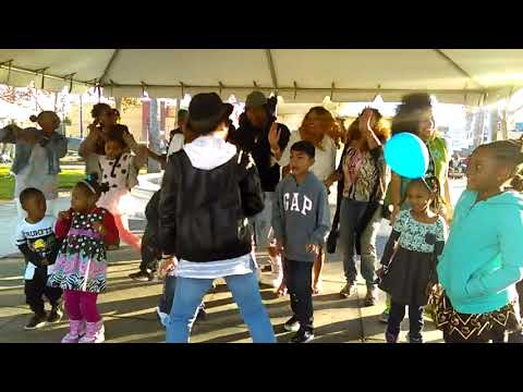 Universal Recording Artist KingThaRapper Live Performance with Children on Stage in Hollywood