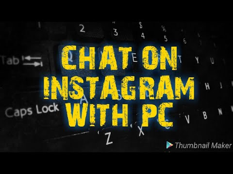 How To Chat On Instagram With Pc