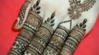 Top Stylish and easy mehndi designs 2018-19