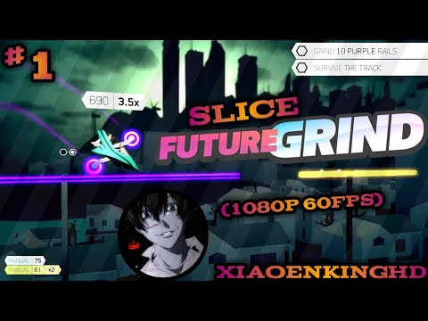 FUTUREGRiND (PS4) by MILKBAG GAMES INC| Career Mode - (HOLiDAY/OLD TOWN) Part 1(1080p 60fps)