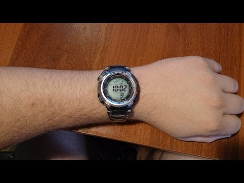 Часы CASIO PROTREK PRG110T, год на руке =)