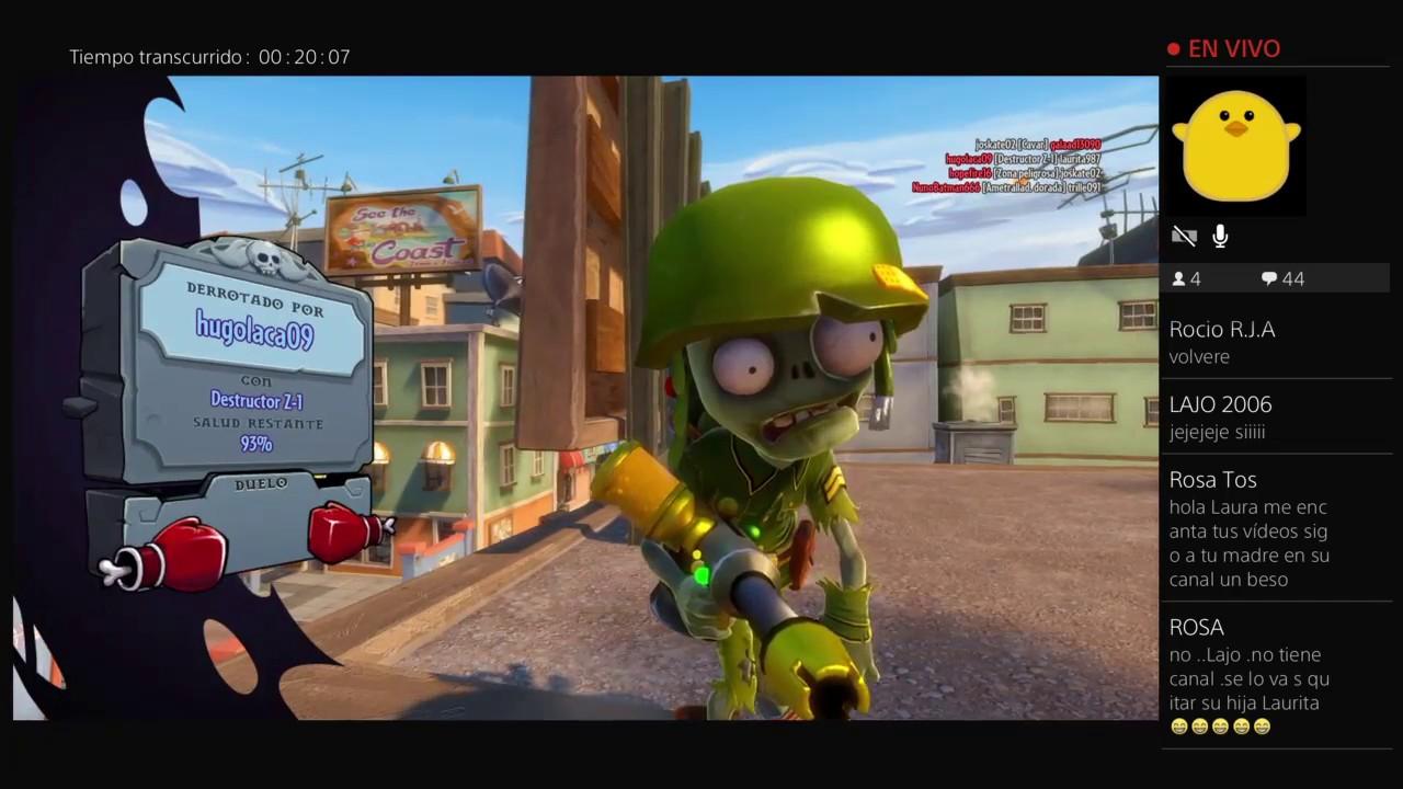 TERRENO DEL SR. ZOMBI ! - (Plantas Vs Zombies Garden Warfare) - YouTube