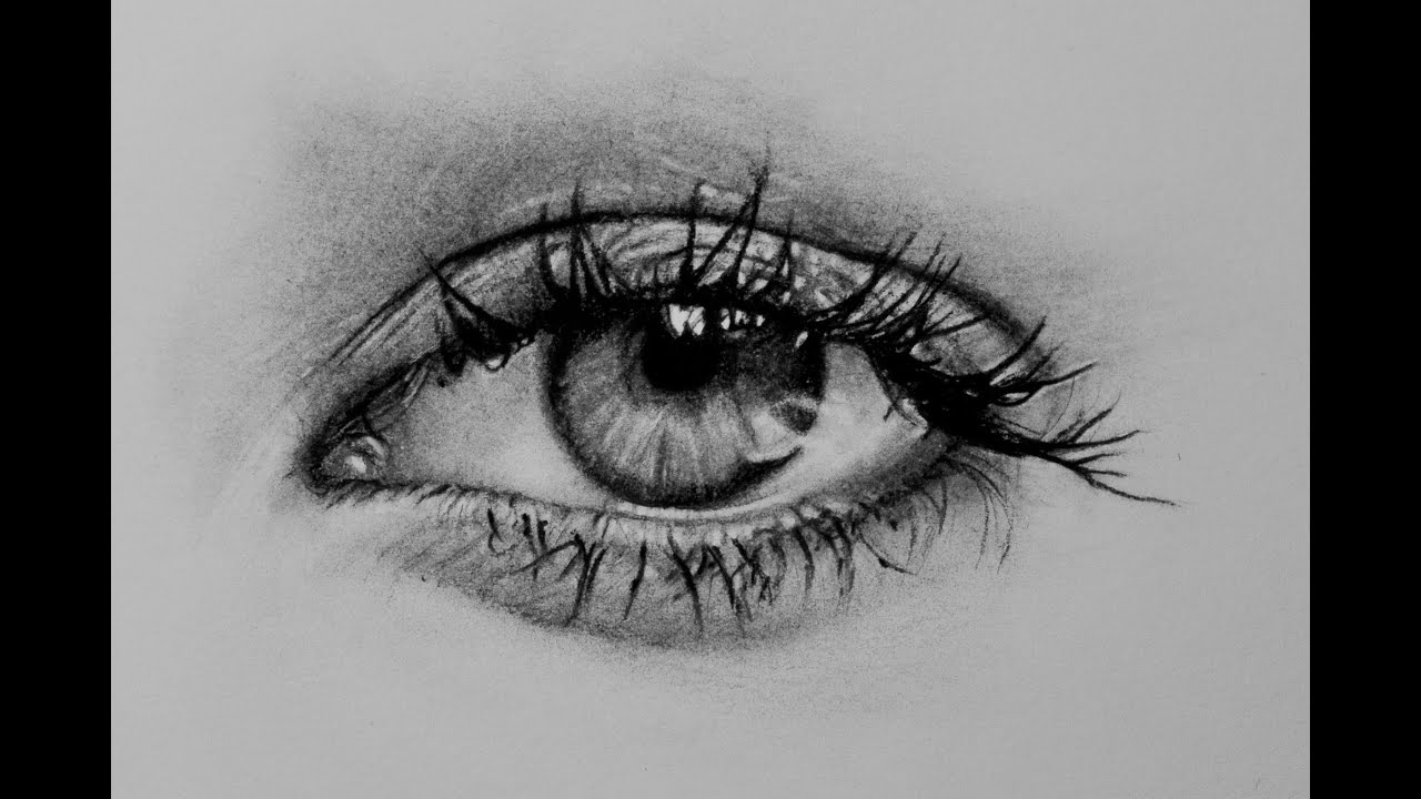 It's just a graphic of Unforgettable Real Eye Drawing