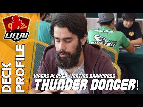 Deck Profile | WCQ Regional: Chile | Matias Darkcross | Thunder Danger | Yu-Gi-Oh! TCG | (Latin YGO)