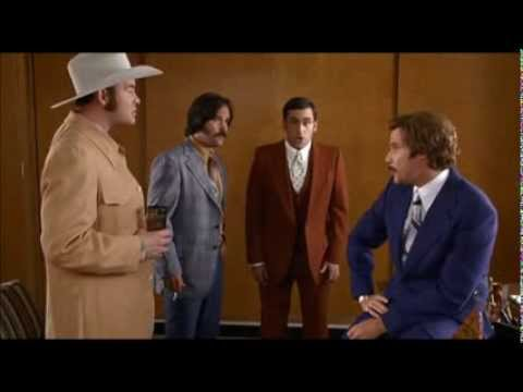 Steve Powers - The Ron Burgundy Podcast has finally arrived!