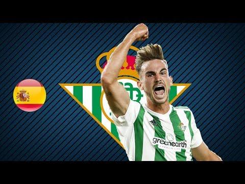 FABIAN RUIZ | Real Betis | Goals, Skills, Assists | 2017/2018 (HD)