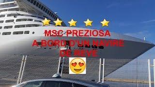 Msc Preziosa 2017 .MSC Kreuzfahrten .Msc Cruise.Msc Croisières ..رحلات ماجستير.