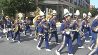 AI duPont High School Marching Band performs at the Wilmington, Del...