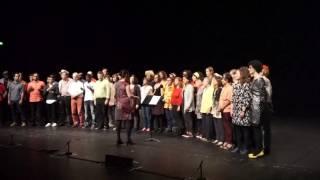 Mundun chanté par les Musiterriens & l'ENS au 104