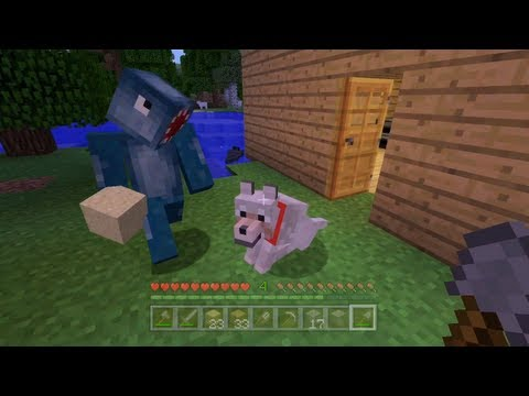 Minecraft Xbox – Quest To Kill The Ender Dragon – Getting Started – Part 1