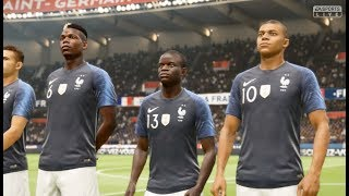 France vs Inde FIFA 19 Difficulté Ultime Gameplay PC