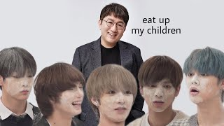 Download lagu do you ever look at someone and wonder, what is bighit feeding these kids?