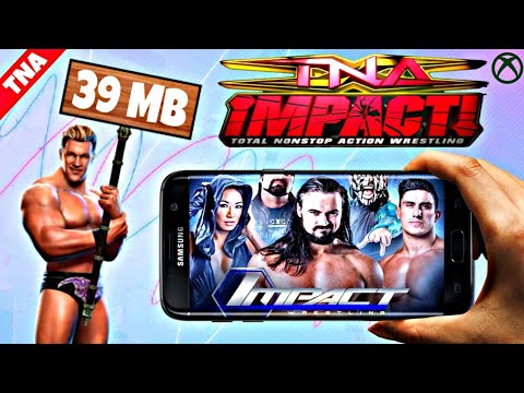 Download TNA IMPACT WRESTLING Game On Android For Free | BEST TNA WRESTLING GAME PPSSPP (Hindi/Urdu)