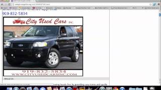 Craigslist Raleigh NC Used Cars - Finding Deals Online