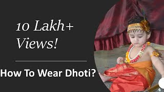How to Wear a Dhoti