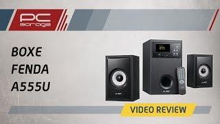 pC Garage  Video Review Boxe Fenda A555U