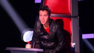"""Brian canta """"El Aventurero"""" en """"La Voz Kids"""""""