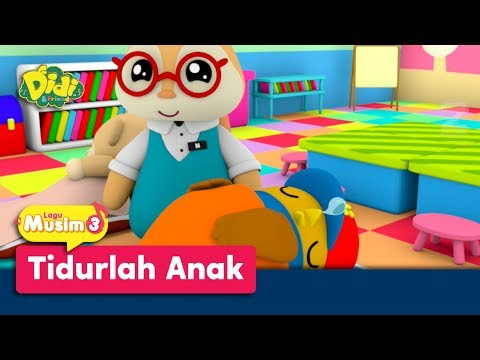 Didi & Friends | Lagu Baru Musim 3 | Tidurlah Anak