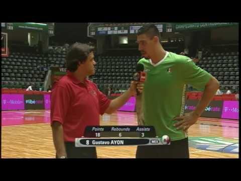 Centrobasket 2014 - Post-Juego - Mexico vs. Puerto Rico