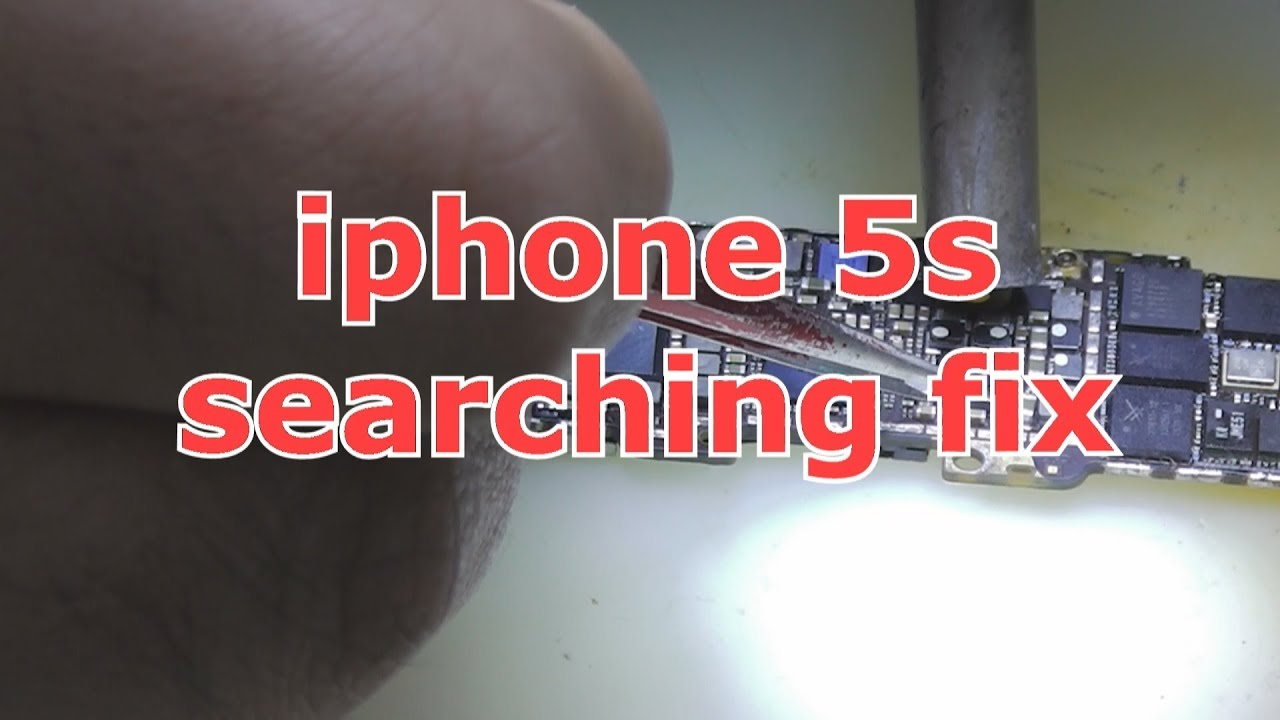 Iphone 5s Searching Fix Youtube