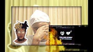 SO SAD :(  Lil Peep & XXXTENTACION - Falling Down (REACTION VIDEO)